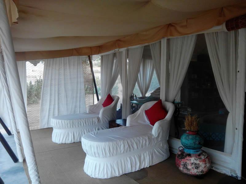 Tent set 7